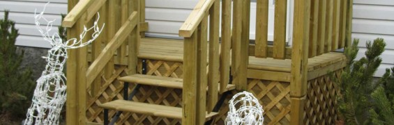 Front stairs and landing-Blairmore