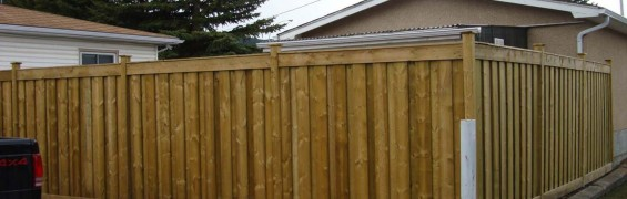 Privacy Fence – Blairmore